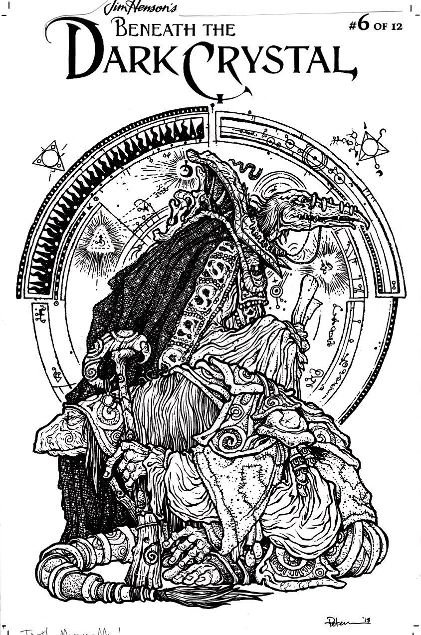 Beneath The Dark Crystal #6 Cover