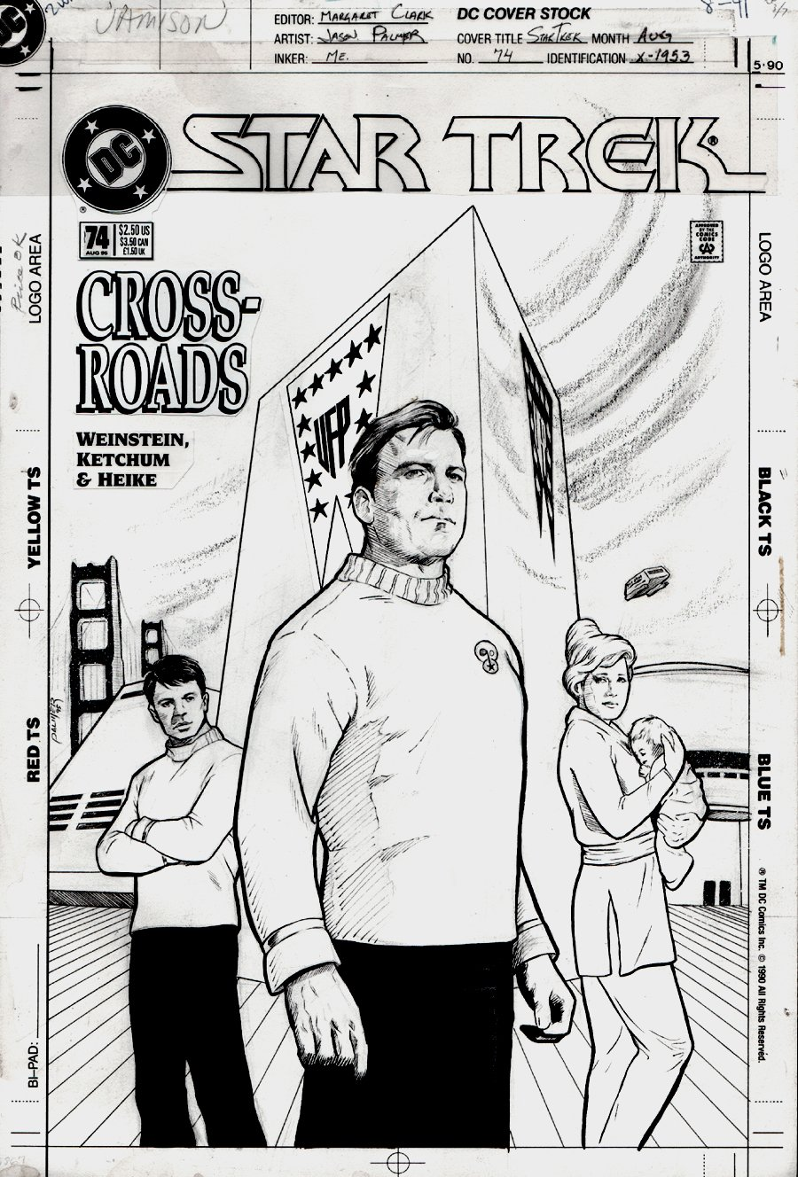 Star Trek #74 Cover (1995)