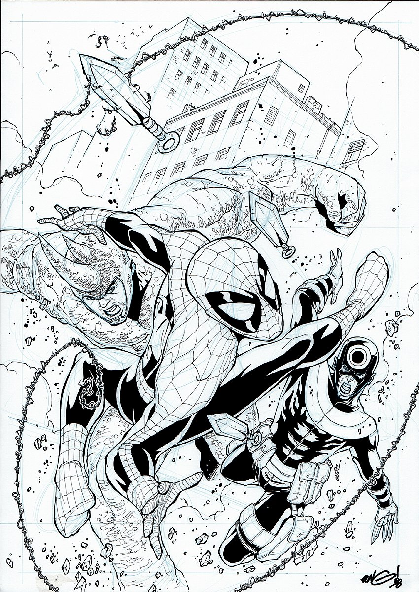 Spectacular Spider-Man #161 Cover (2007)