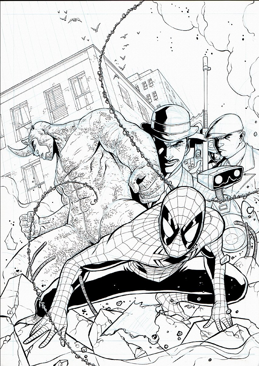 Spectacular Spider-Man #176 Cover (2008)