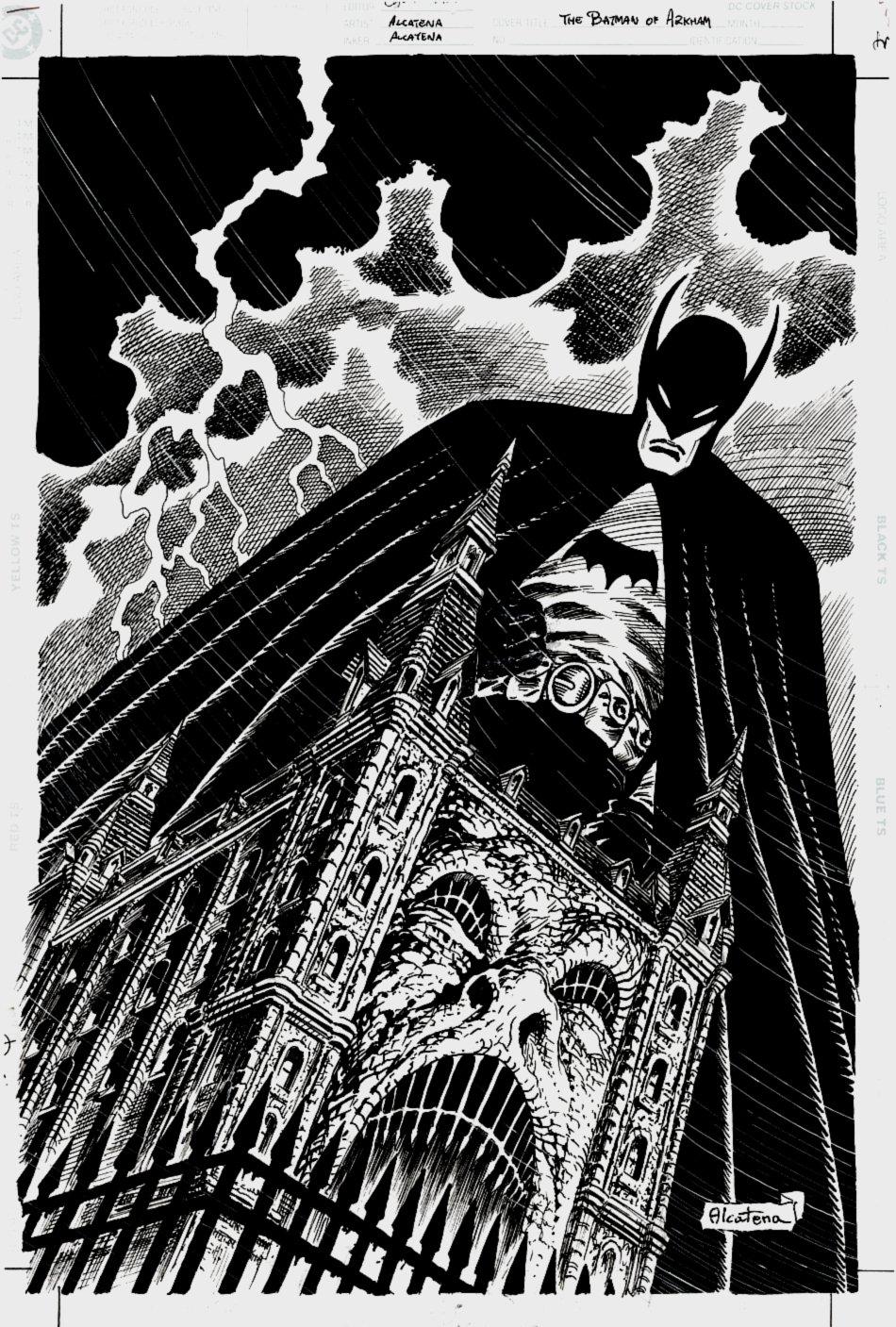 The Batman of Arkham #1 Cover (2000)