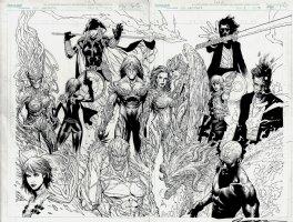 Artifacts #1 Wraparound Cover (2010) Comic Art