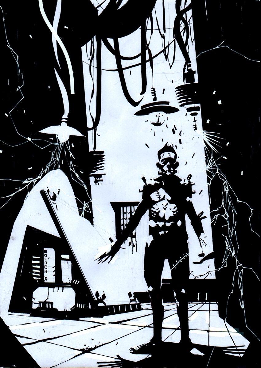 Frankenstein's Monster Pinup