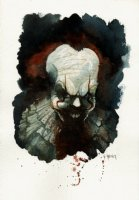 Pennywise Painted Pinup Comic Art