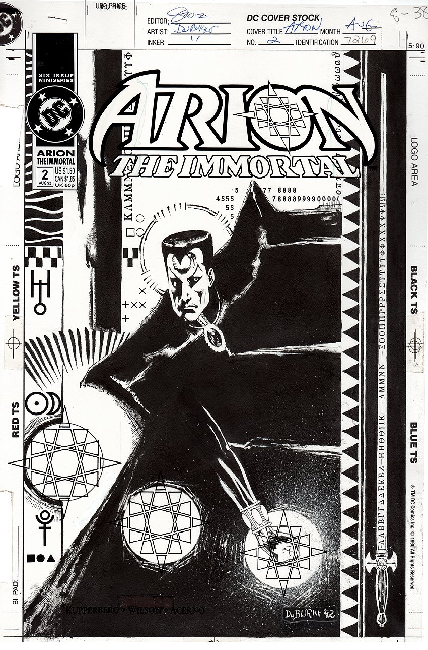 Arion the Immortal #2 Cover (1992)