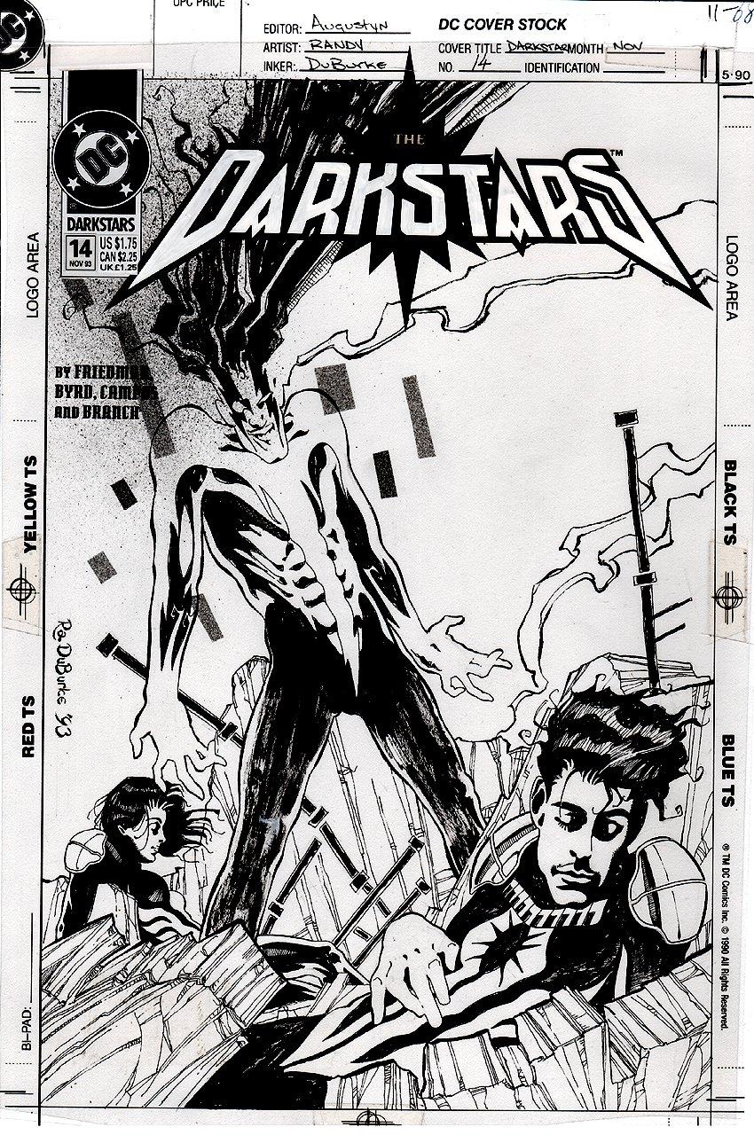 Darkstars #14 Cover (1993)