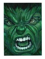 Incredible Hulk Painting Commission Comic Art