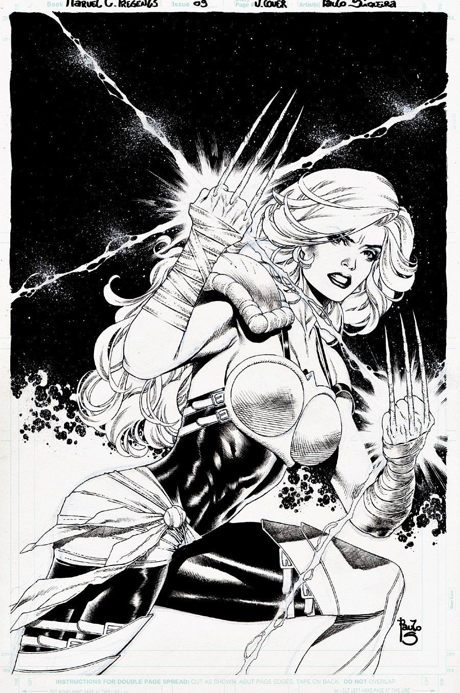 Marvel Comics Presents #8 Cover (Reine du Rien!) 2019