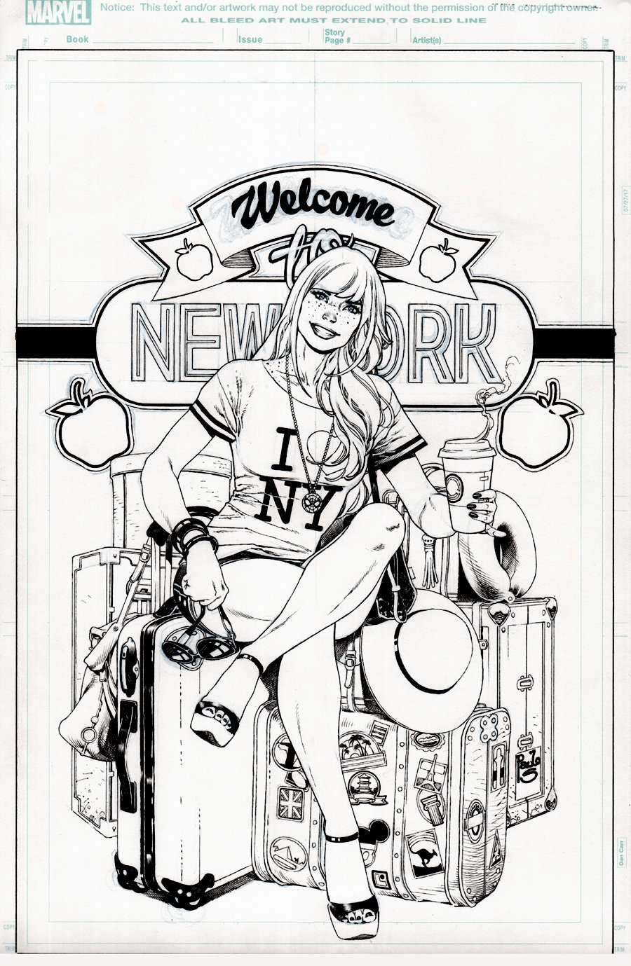 Amazing Mary Jane #6 Cover (SUPER SEXY MJ!) 2019