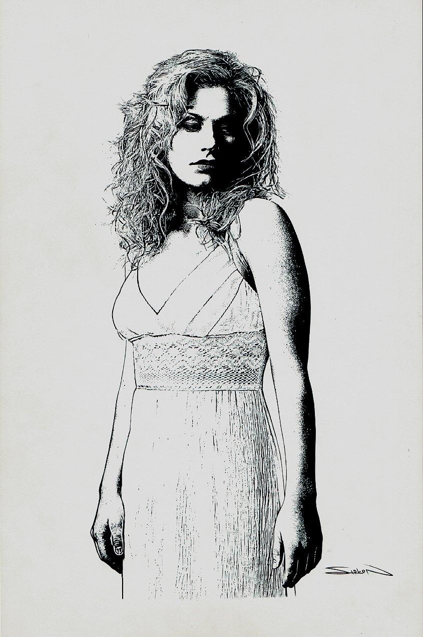 Sookie: 'True Blood' Illustration