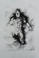 Green Lantern Commission Pinup! WOW! (Large Art) 2016 Comic Art