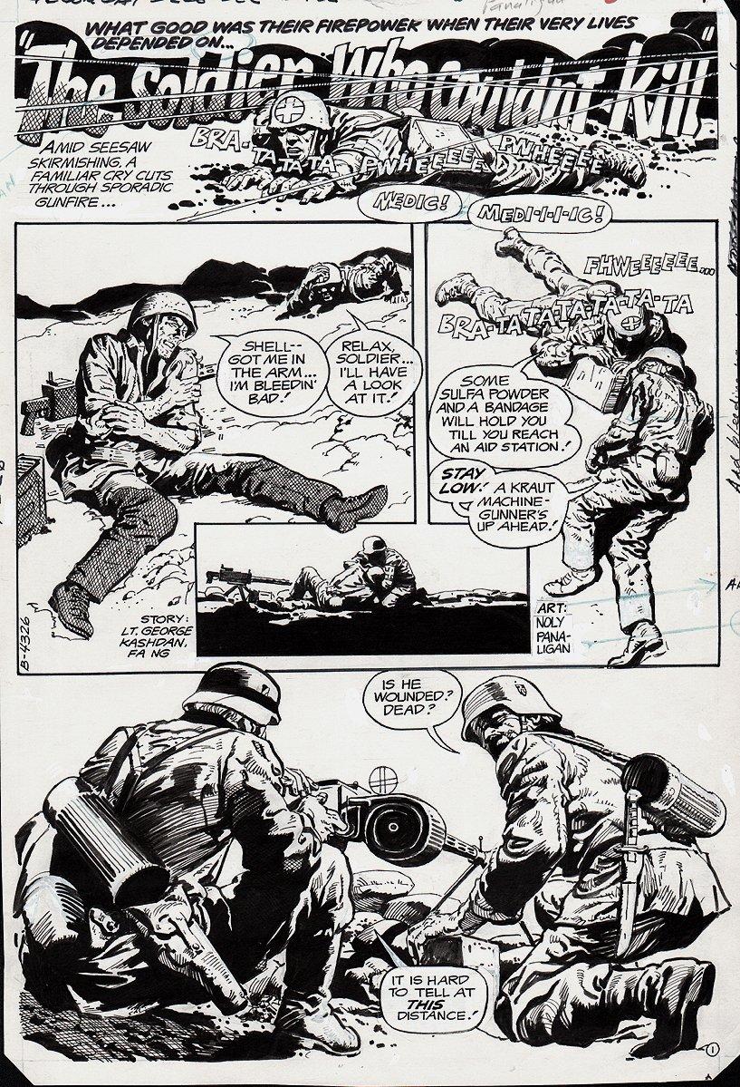 G.I. Combat #260 p 1 (1983)