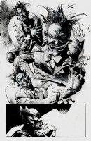Batman Arkham City #1 p 28 Splash (Large Art) Comic Art