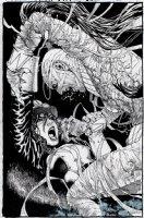 Van Helsing vs The Mummy of Amun-Ra #6 Cover (2017) Comic Art