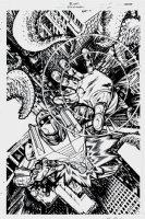 ROM #9 cover (2016) Comic Art