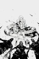 Sheltered #5 Cover (2013) Comic Art