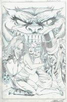 Grimm Fairy Tales Presents: Wonderland #2 Cover (2012) Comic Art