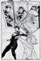 Superboy #14 p 12 SPLASH (2012) Comic Art
