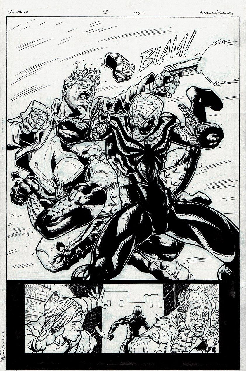 Wolverine #2 p 10 SPLASH (2014)