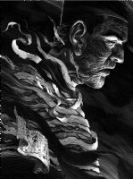 'The Mummy' Universal Monsters Published Poster Art (INCREDIBLY DETAILED CROSS HATCHING) Comic Art