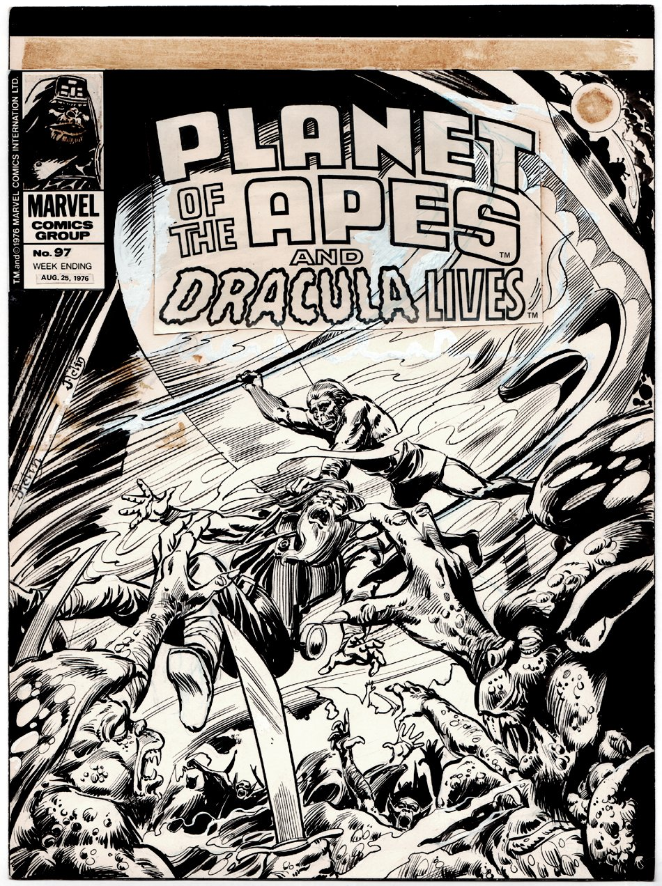 Planet of the Apes #97 Cover (1976)