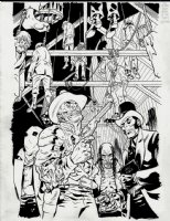 The Sixth Gun: Sons of the Gun #1 Cover & Trade Paperback Cover (2012) Comic Art