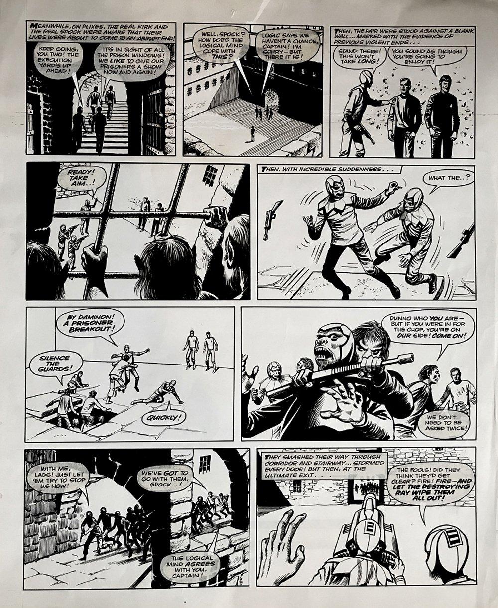 Star Trek Newspaper Strip (HUGE) 11-3-1973