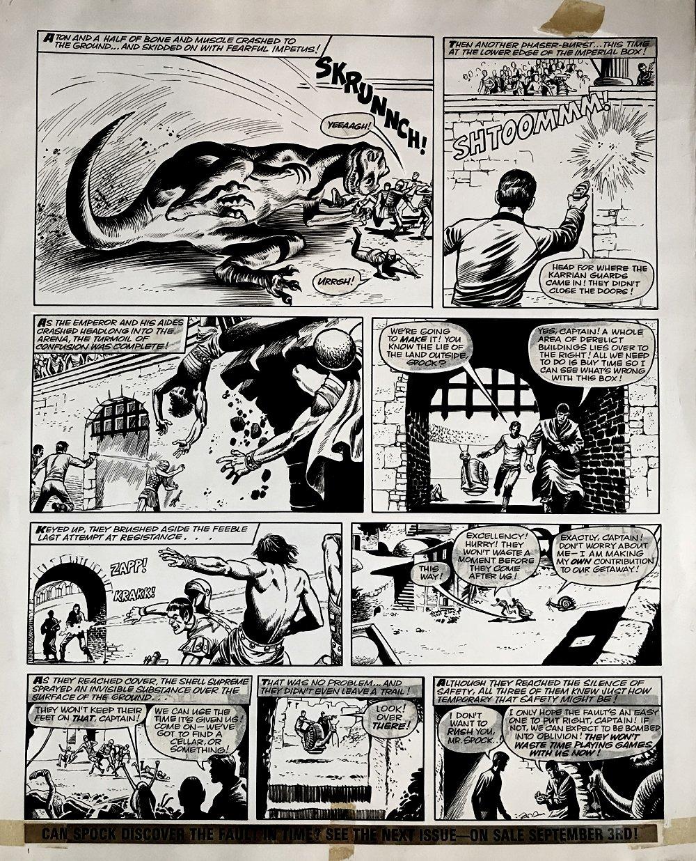 Star Trek Newspaper Strip (HUGE) 9-1-1973