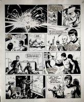 Star Trek Newspaper Strip (HUGE) 10-14-1972 Comic Art