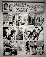 Star Trek Newspaper Strip (HUGE) 10-7-1972 Comic Art