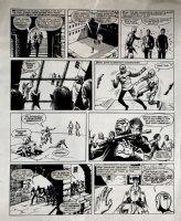 Star Trek Newspaper Strip (HUGE) 11-3-1973 Comic Art