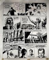 Star Trek Newspaper Strip (HUGE) 2-3-1973 Comic Art