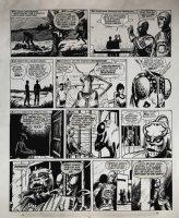Star Trek Newspaper Strip (HUGE) 3-31-1973 Comic Art