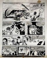 Star Trek Newspaper Strip (HUGE) 9-1-1973 Comic Art