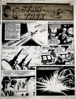 Star Trek Newspaper Strip (HUGE) 9-30-1972 Comic Art