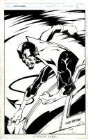 Excalibur #97 Cover (1996) Comic Art