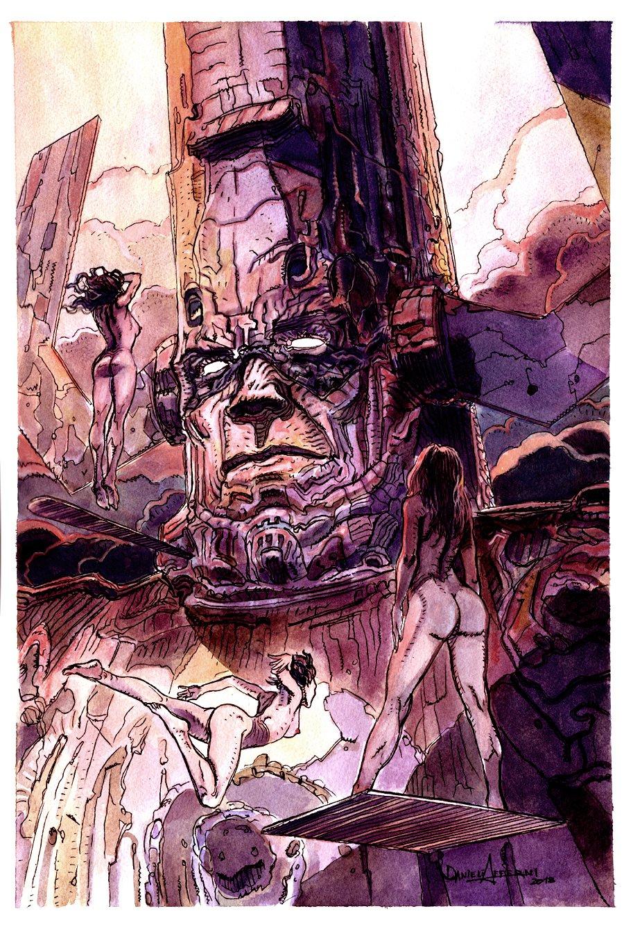'Heralds of Galactus' Painting