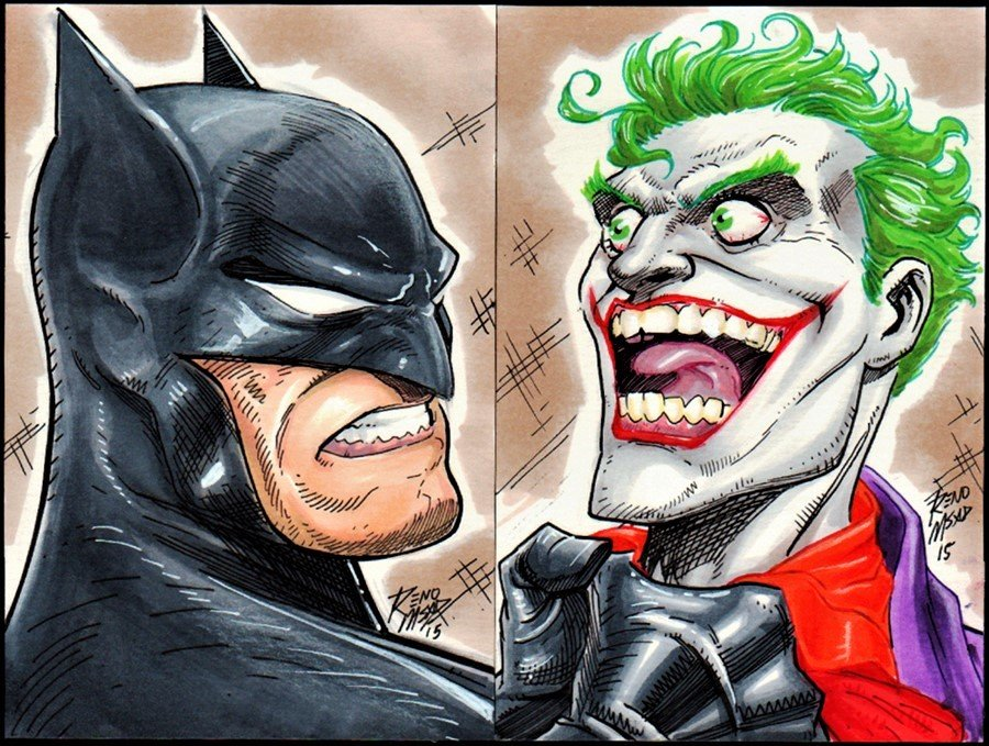 Batman / Joker Pinups (2015)