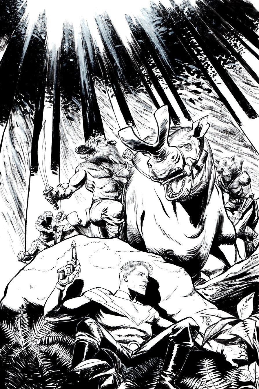 Flash Gordon: Kings Cross #3 Cover (2016)