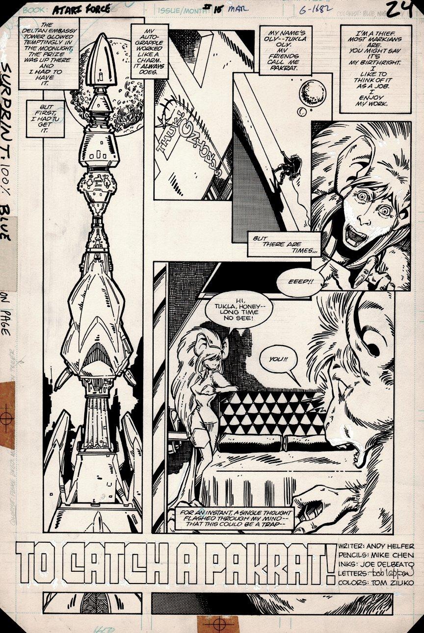 Atari Force #15 p 1 (1983)