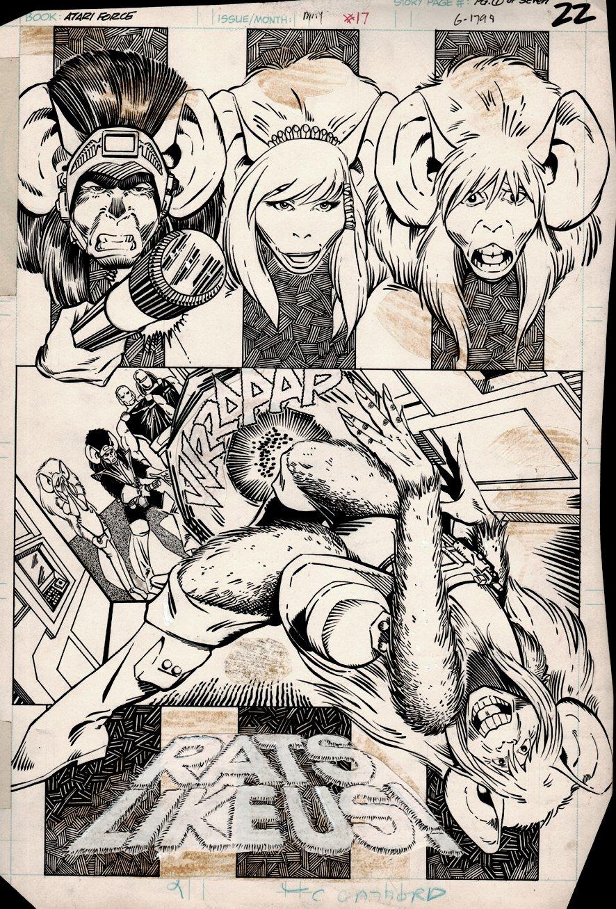Atari Force #17 p 1 SPLASH (1983)