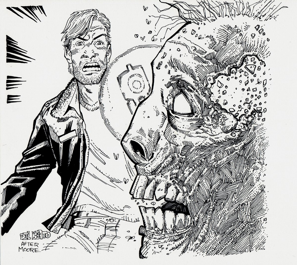 Walking Dead: Rick Grimes And Zombie!