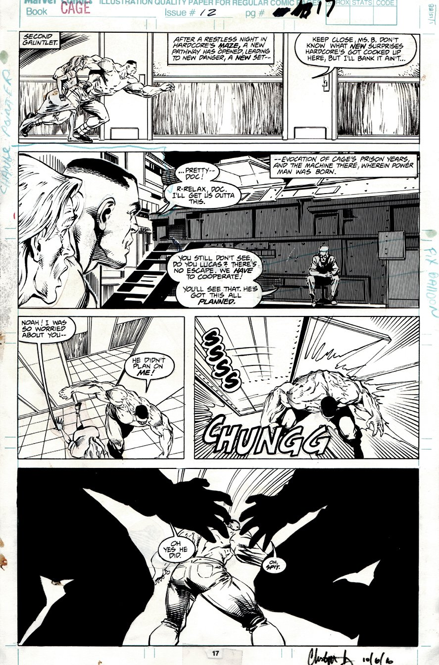 Cage #12 p 17 (1992)
