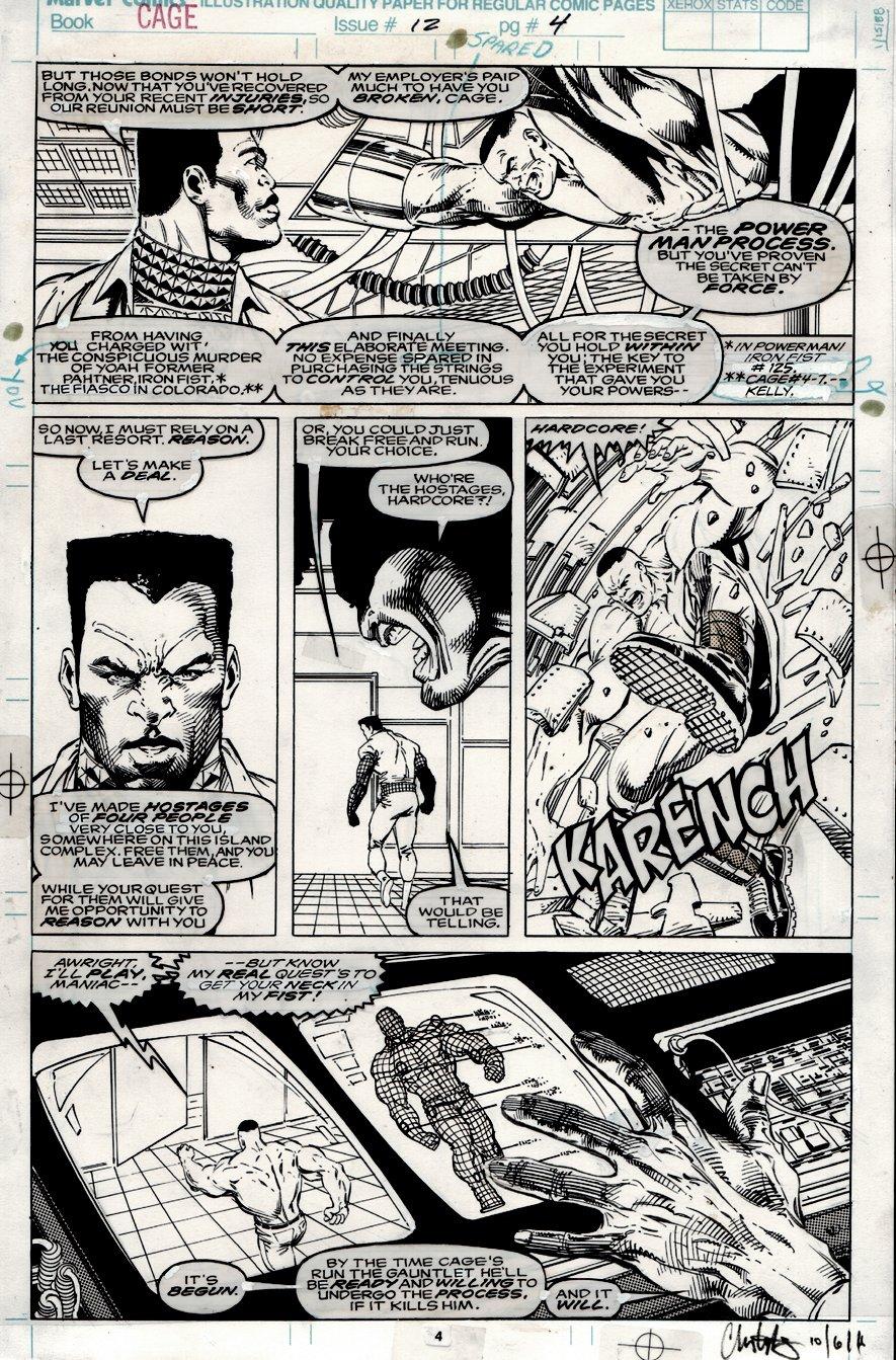 Cage #12 p 4 (1992)