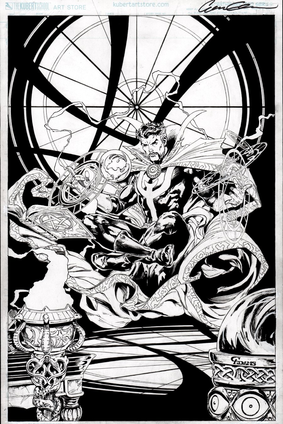 Doctor Strange Cover Quality Pinup
