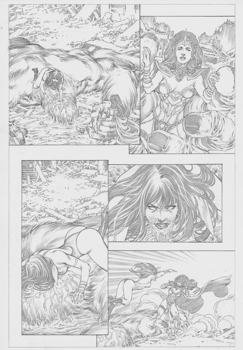 Vampirella / Dejah Thoris #1 p 13