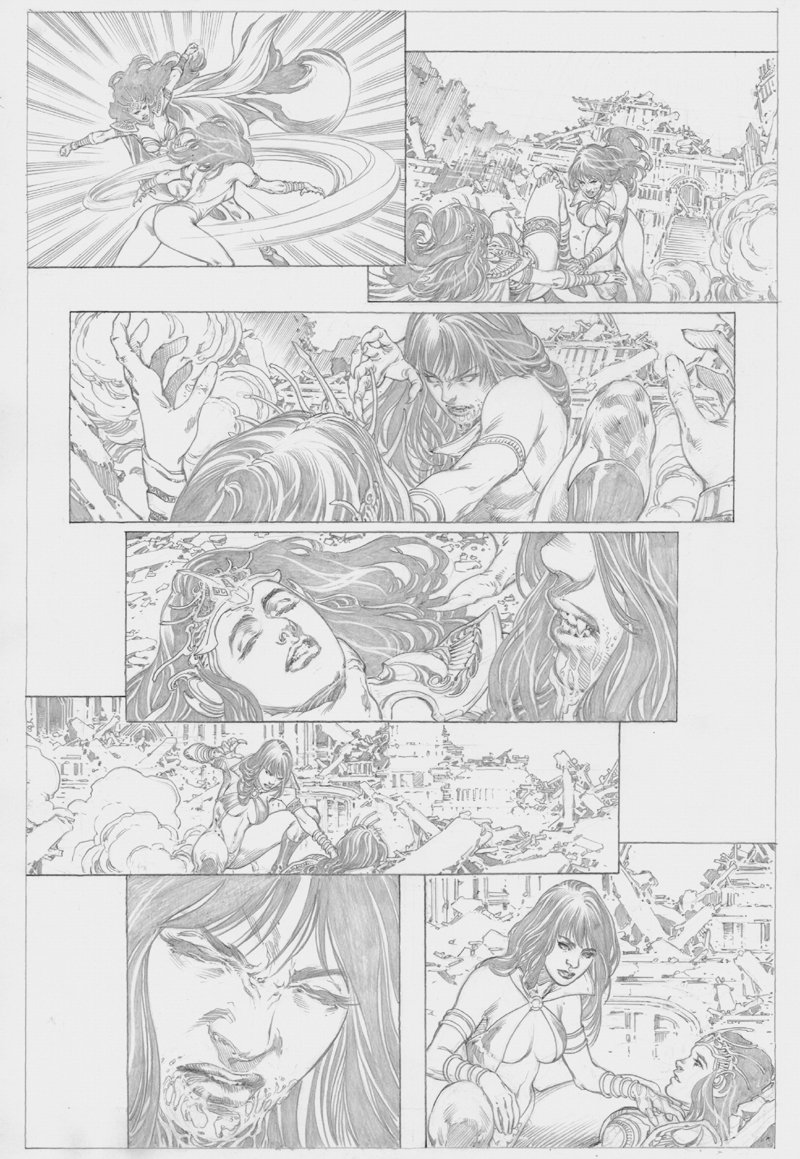 Vampirella / Dejah Thoris #1 p 14