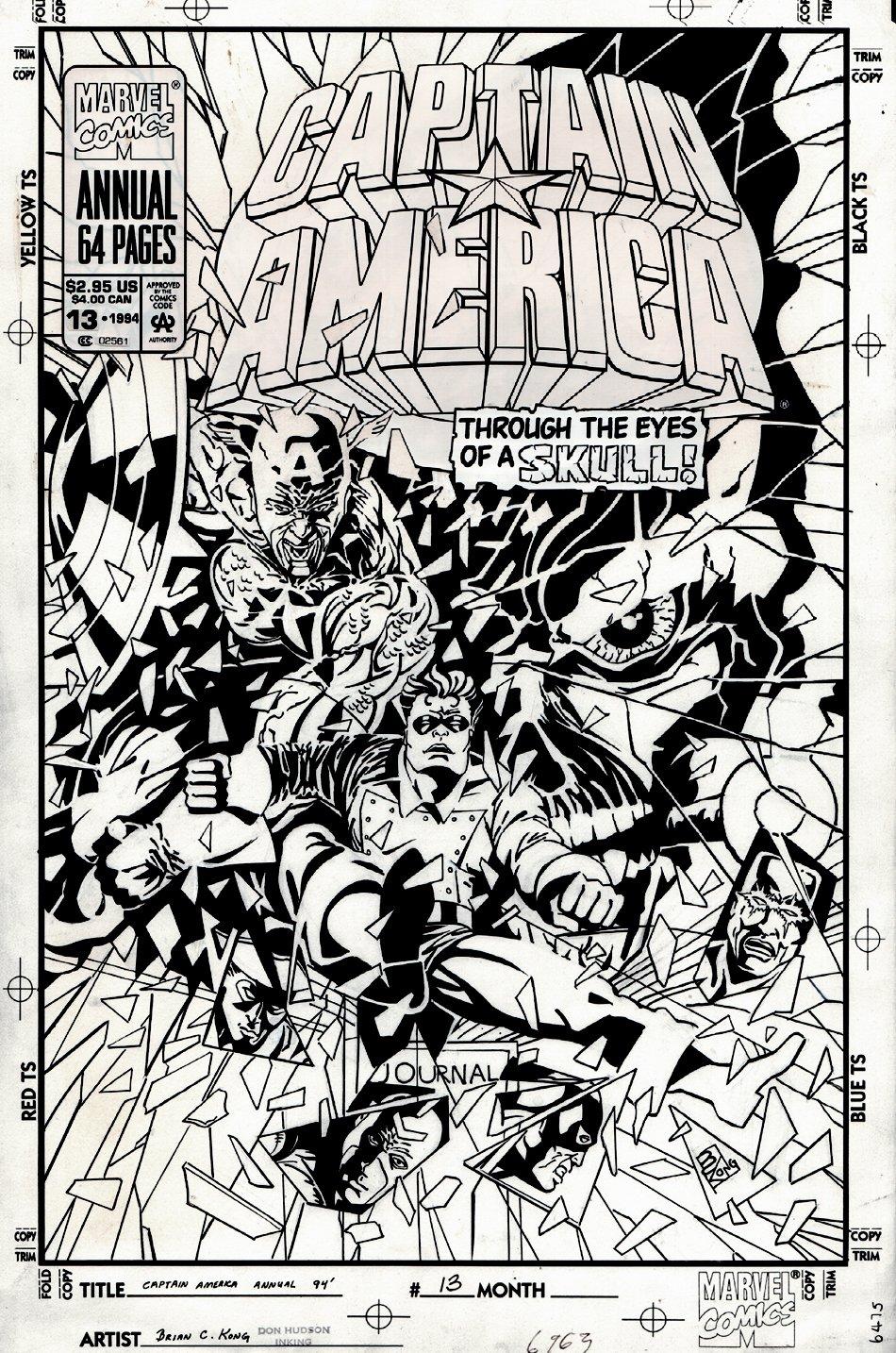 Captain America Annual #13 Cover (1994)