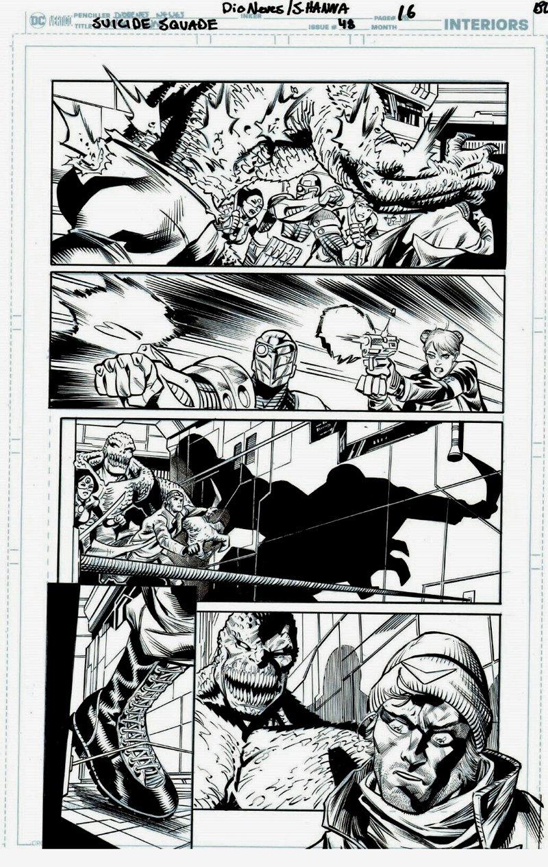 Suicide Squad #48 p 16 (TEAM BATTLE PAGE!) 2018