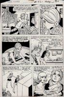 Young Romance #182 p 2 (1971) Comic Art